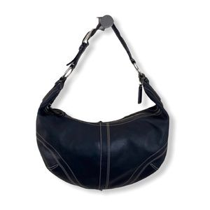 Coach leather hobo handbag 10032